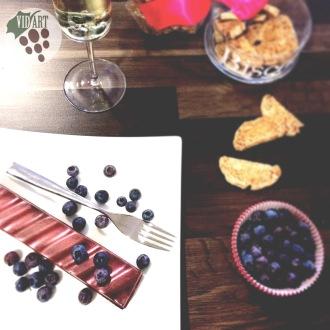 Crunch d'avellanes i arròs inflat de Vins Vidart